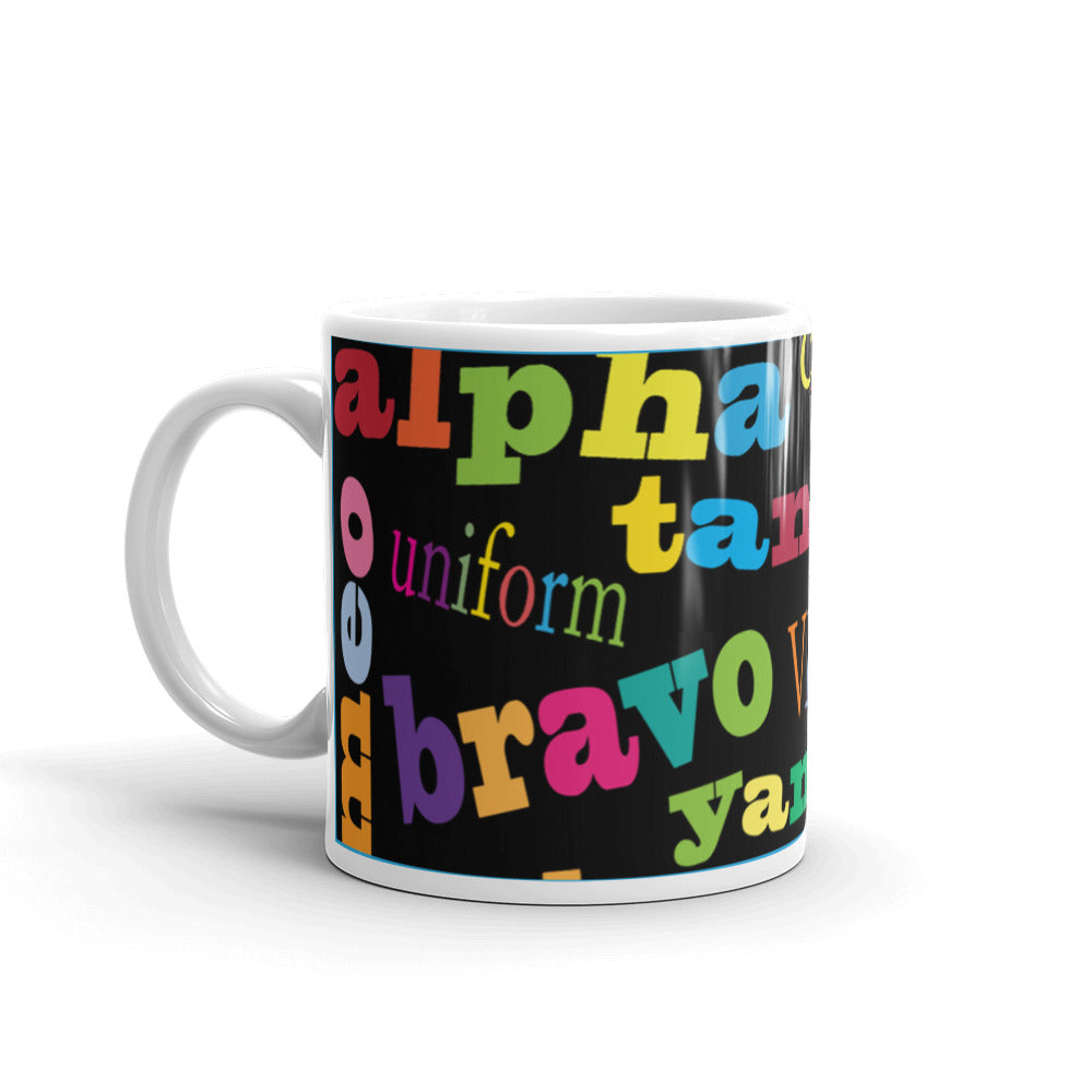 Ask me my Alphabet...Mug