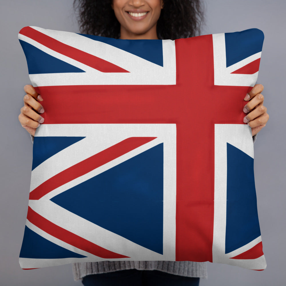 The Homefront Girl® UK Throw Pillow