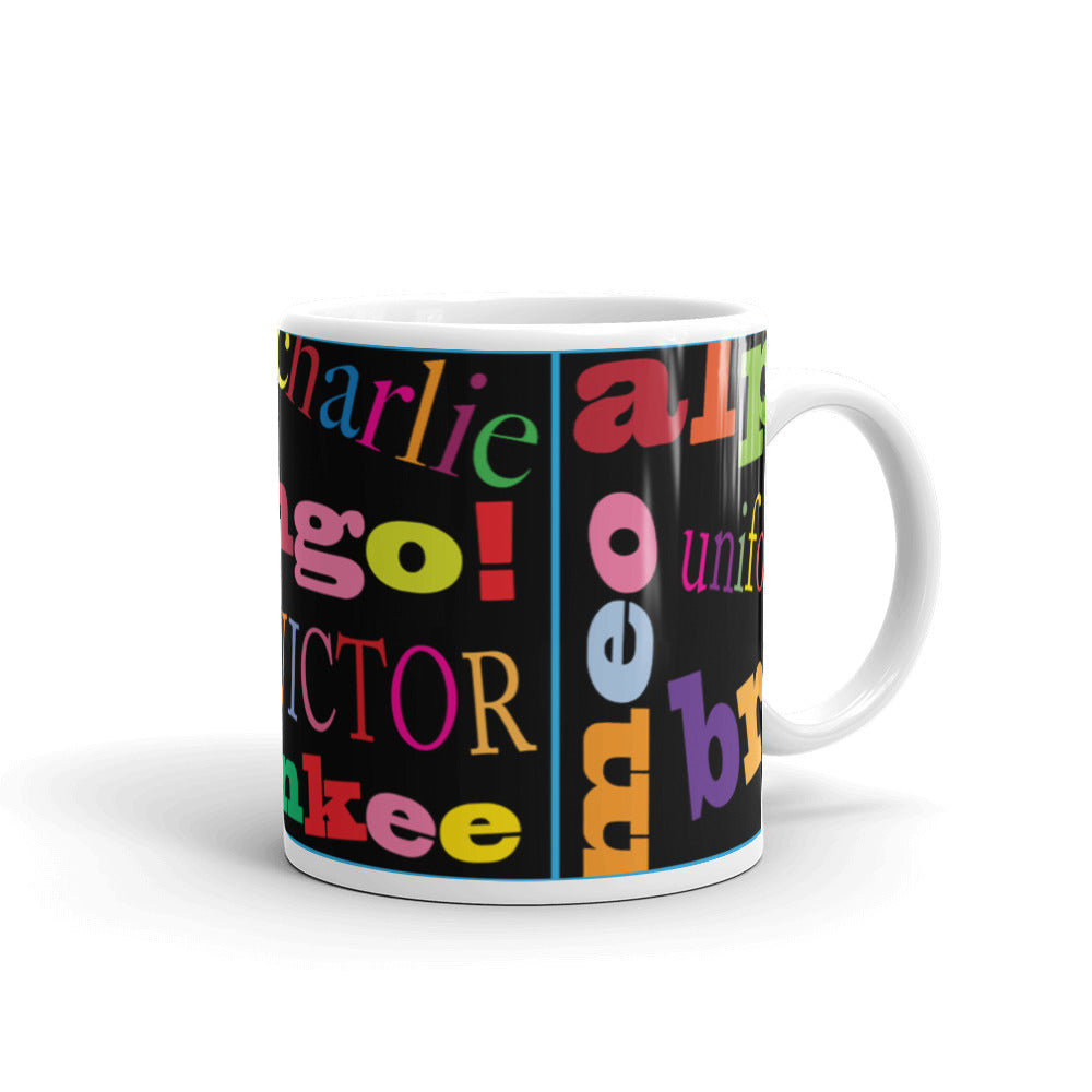 Ask me my Alphabet...Mug - [shop_home]