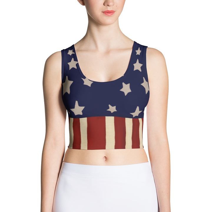 Homefront Girl® Power Team design  - Crop Top