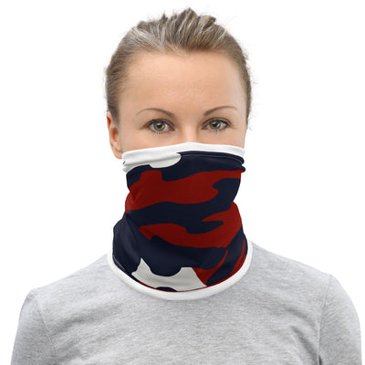 HFG® Signature Red, White and Blue Camo Face Mask
