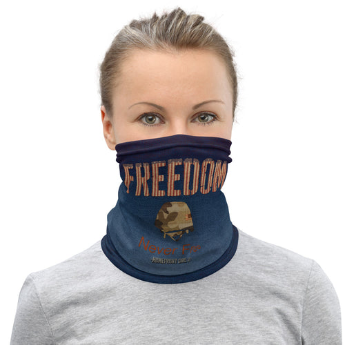 Homefront Girl® FREEDOM Design - Neck Gaiter
