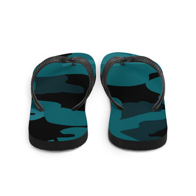 "The Homefront Girl® Take me to the sea"" Camo Collection - Flip-Flops"
