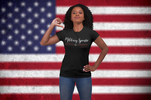 """Military Spouse Anything BUT dependent"" - Unisex Jersey Short Sleeve Tee - [shop_home]"