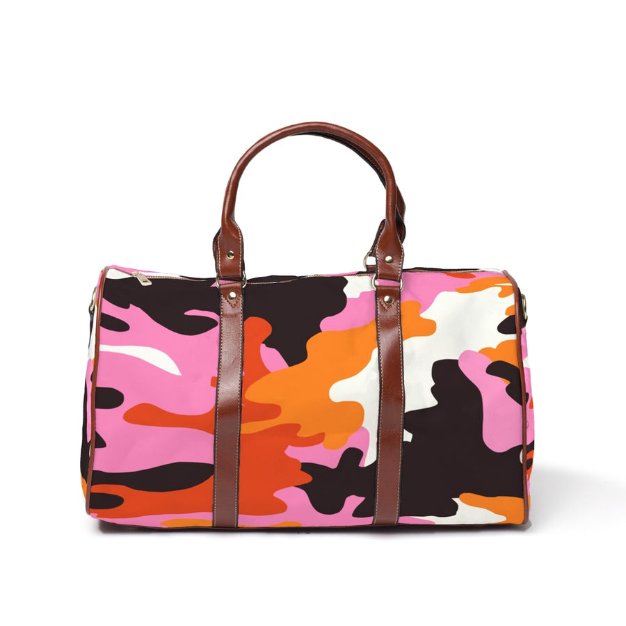 The Homefront Girl® NYC CAMO -Travel Bags