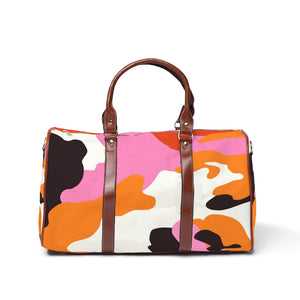 """Color me Camo""- Travel Bag"