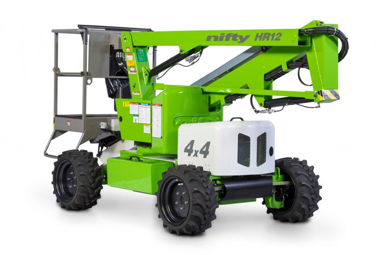 Nifty HR12 4x4 Hybrid boom lift