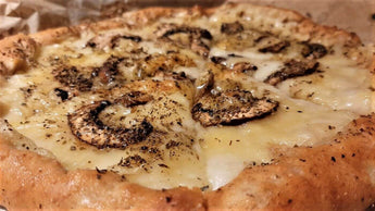 Vegan Mushrooms-Truffle Pizza