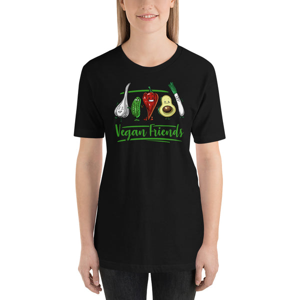 GET IN SHAPE Vegan Friends Vegan Unisex Shirt