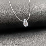 Invisible Fishing Line Pendant Necklace