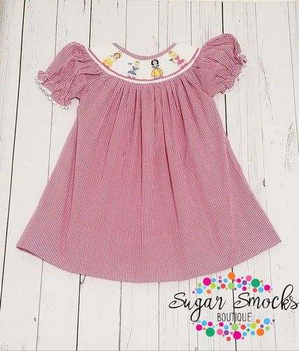 Princess Smocked Bishop Dress