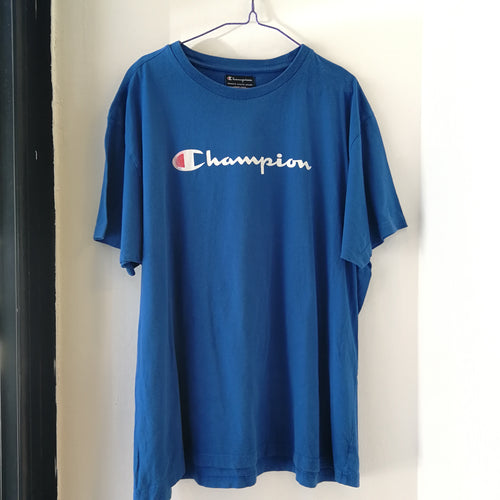 TOTAL BLUE CHAMPION TEE L