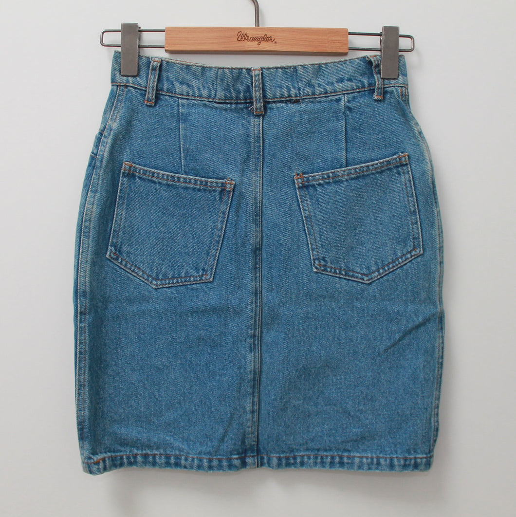 LAGOON LILA'S DENIM SKIRT