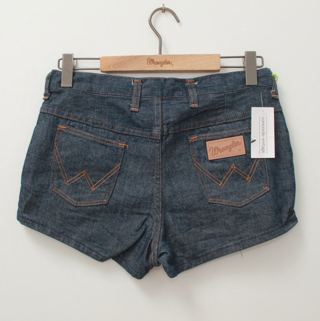 INDIGO WRANGLER DENIM SHORT 34