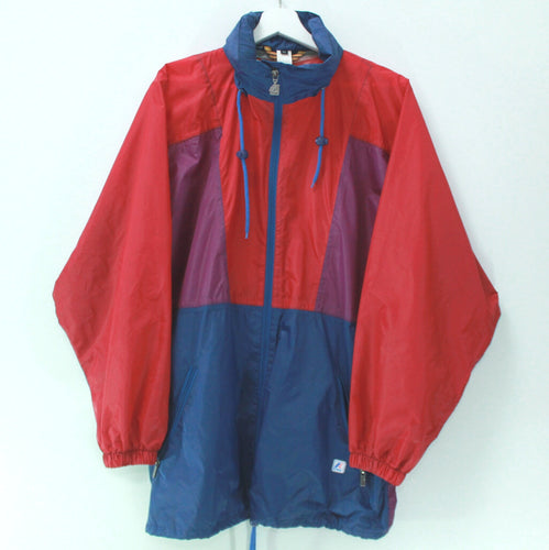 VINTAGE K-WAY BLOCKS RAINCOAT L