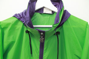 80s K-WAY BICOLOR RAINCOAT L