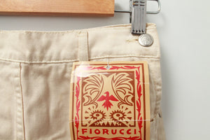 FIORUCCI CHAMPAGNE VINTAGE SKIRT 36