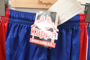 90s BARÇA KAPPA BLUE FOOTBALL SHORTS XL