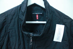 LEVIS DEEP BLACK GENTLE JACKET L