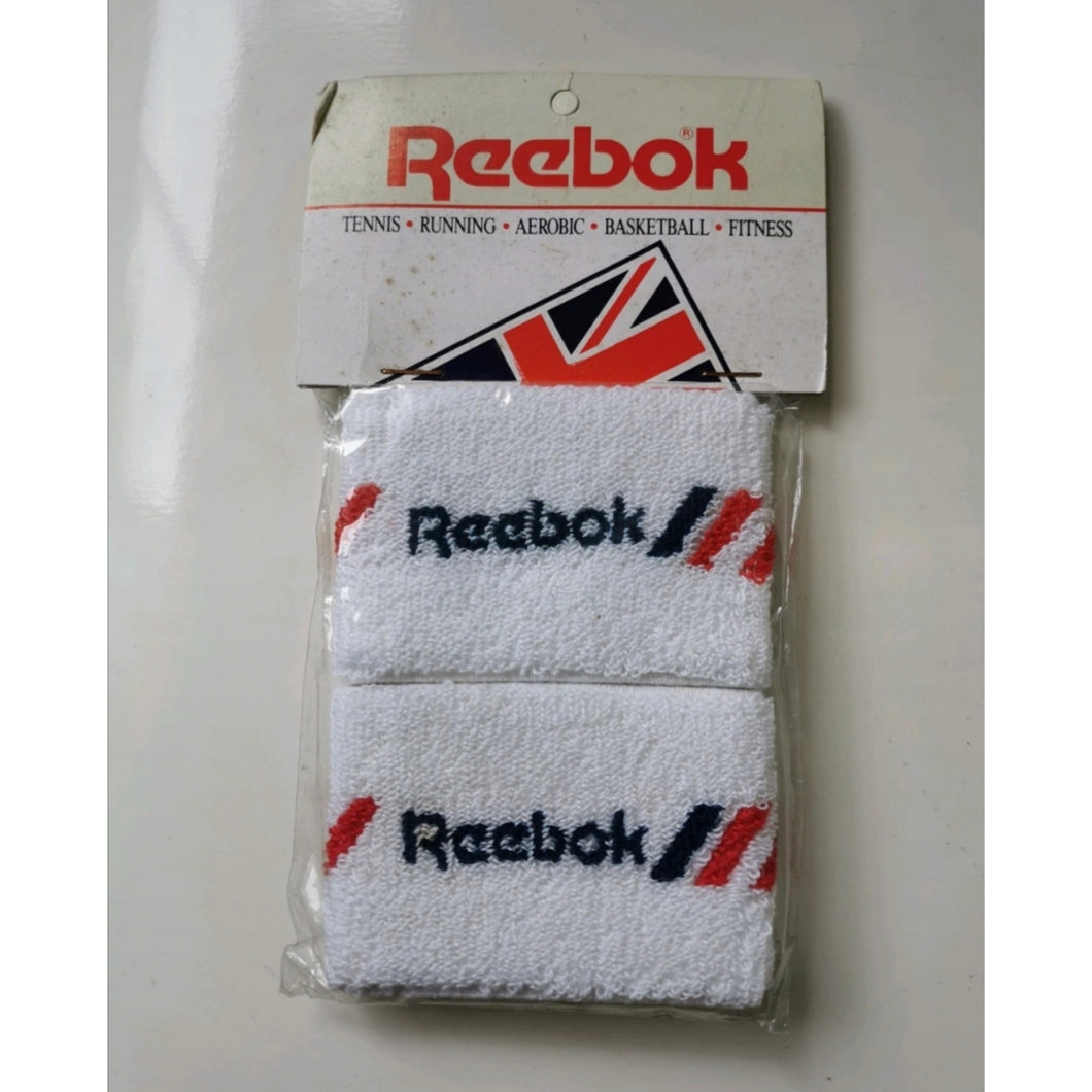 VINTAGE DEADSTOCK REEBOK RED WRISTBAND