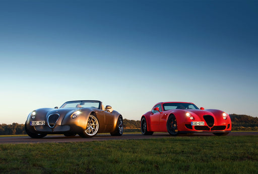 2009 -Wiesmann unveils the Roadster MF4 and the Roadster MF5. Plans commence to expand into Asia and the Middle East.