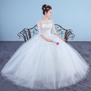 Vintage Tulle  Wedding Dress