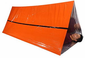 2 Person Emergency Tube Tent