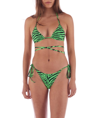 Flo Top Green & Black Zebra