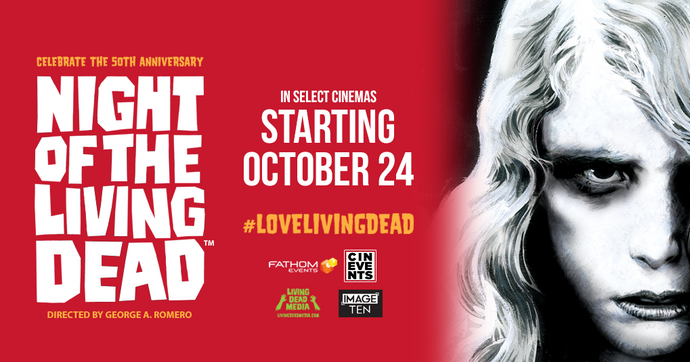 Night of the Living Dead 50th Anniversary Celebration