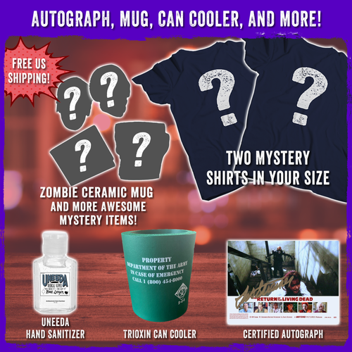 Mystery Autograph, Mug, Can Cooler, and More!