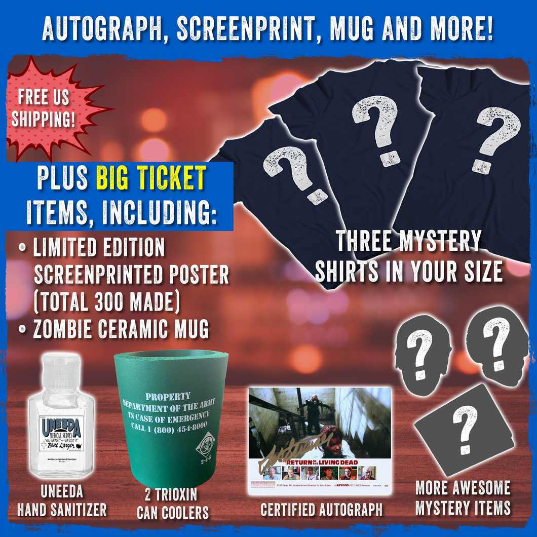 Mystery Autograph, Mug, Screenprint, and More!