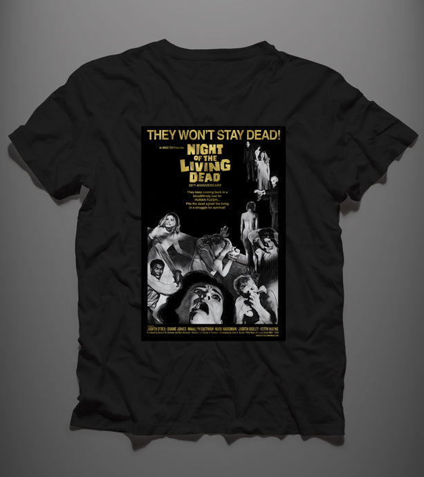 They Won't Stay Dead - T-shirt