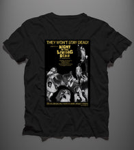 Load image into Gallery viewer, They Won't Stay Dead - Bundle: T-shirt + Poster