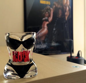 MUCK 6-pack of bikini shot glasses