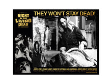 Load image into Gallery viewer, George Romero Night of the Living Dead Lobby Card 2