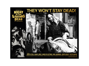 George Romero Night of the Living Dead Lobby Card 2