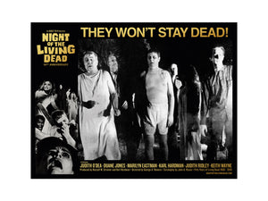 George Romero's Night of the Living Dead Lobby Card 6