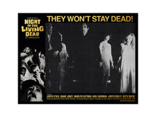 Load image into Gallery viewer, George Romero's Night of the Living Dead Lobby Card 7