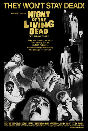 Night of the Living Dead They Won't Stay Dead Poster