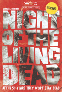 Night of the Living Dead VHS Style Poster