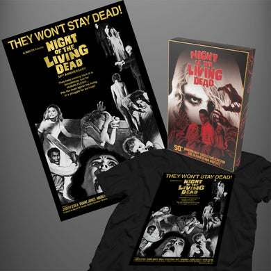 Bundle for Ultimate Fans: Collector's Box + They Won't Stay Dead T-shirt + Poster