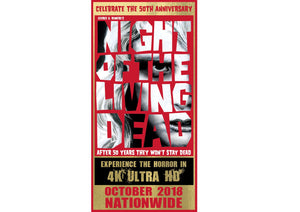 Night of the Living Dead Commemorative Ticket