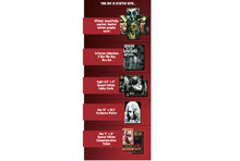 Load image into Gallery viewer, Night of the Living Dead Collector's Box Contents
