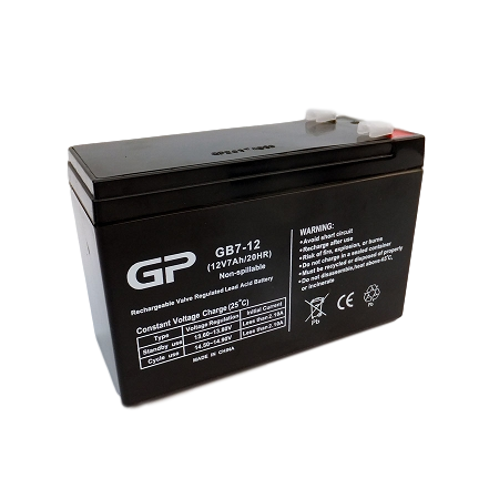 wholesale, wholesale batteries, sealed lead acid batteries, sla, 12V 7Ah, GP1270