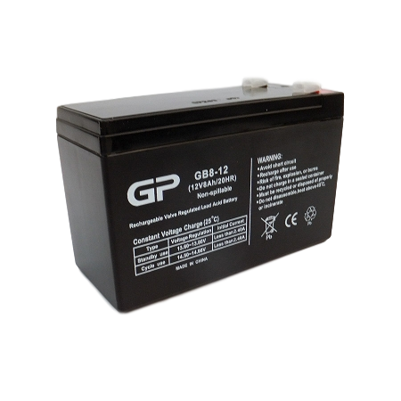 GP1280 SEALED LEAD ACID BATTERY (12V 8AH)