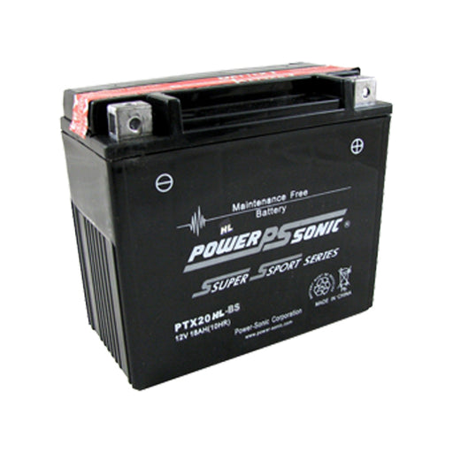 wholesale, power sonic, powersonic, PTX20HL-BS, power sport battery