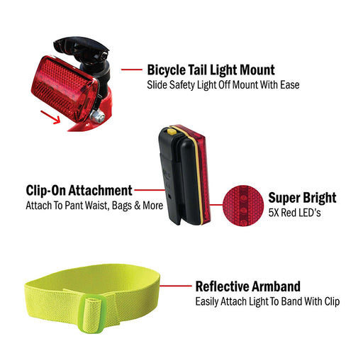 3-In-1 LED Safety Light