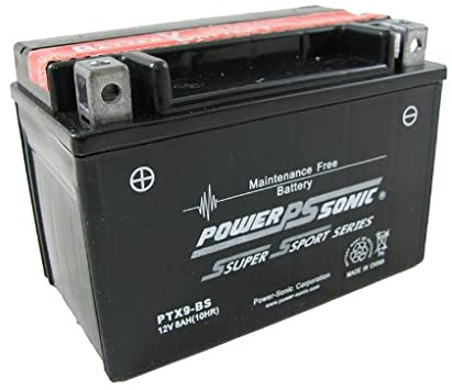 wholesale, wholesale batteries, power sonic, powersonic, PTX9-BS, power sport battery