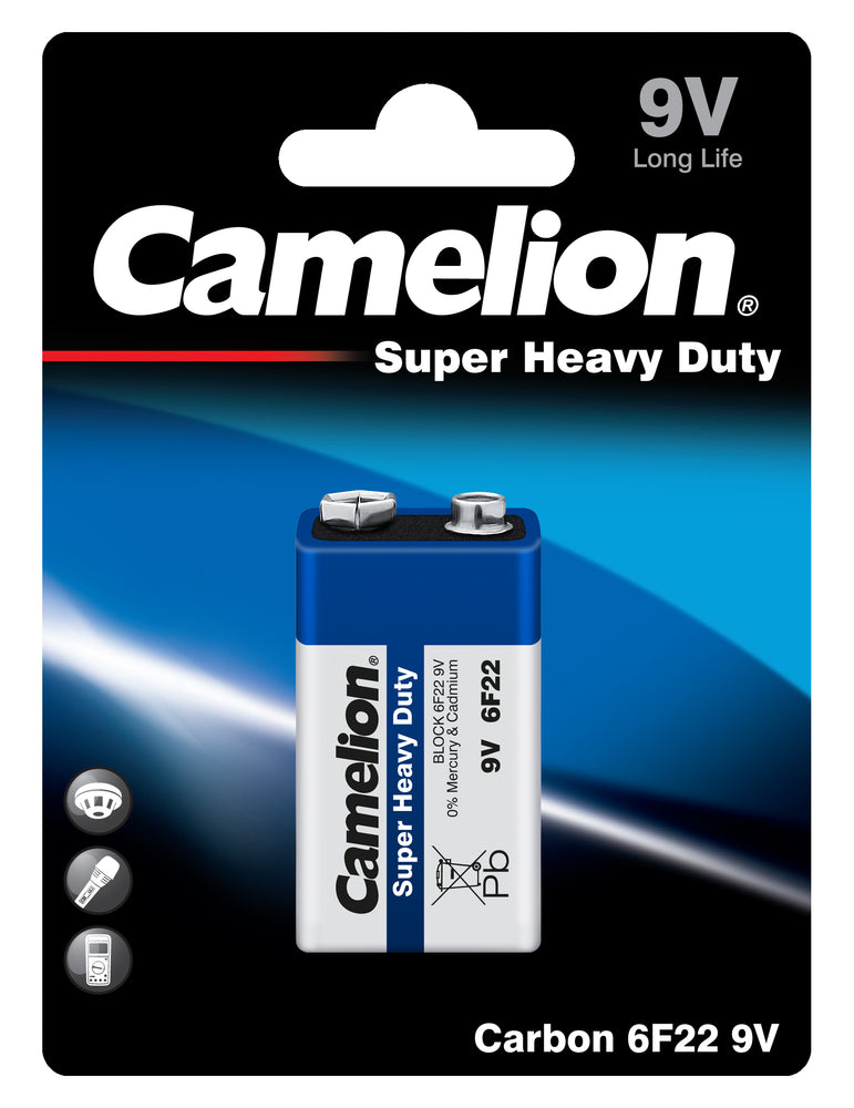 Camelion 9V Super Heavy Duty 1pk