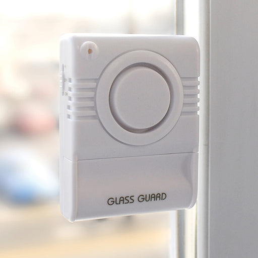window alarm, door alarm, glass alarm, safety, home safety, security, intruder alert